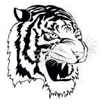 Tiger 2 Mascot