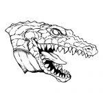 Gator 1 Mascot