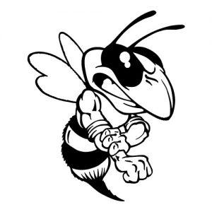 Hornet Mascot Banner
