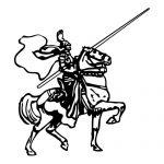 Knight 1 Mascot
