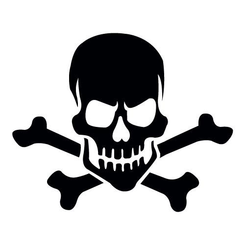 Skull 1 Mascot
