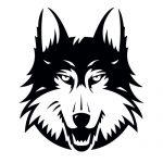 Wolf 1 Mascot