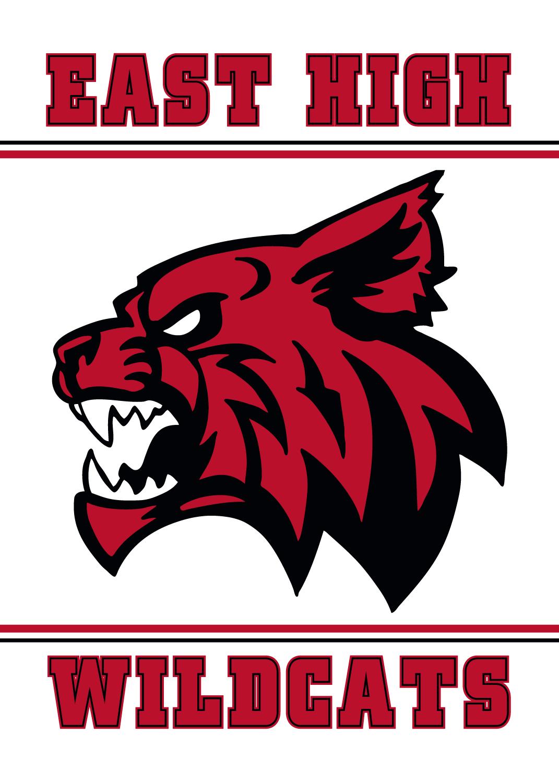 Wildcat Mascot Banner