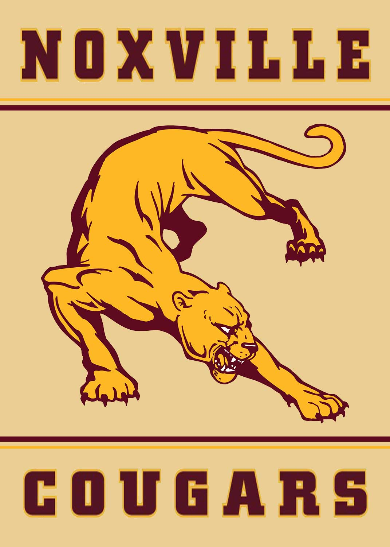Cougar Mascot Banner