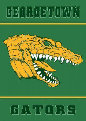 Gator Mascot Banner
